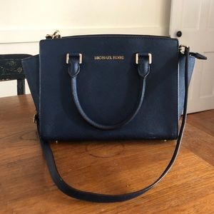 Michael Kors purse, Navy